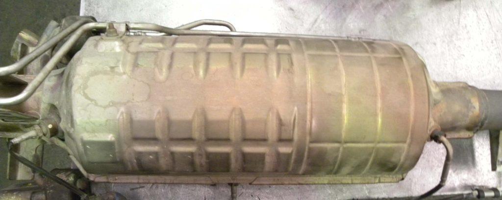 filtro partículas diésel