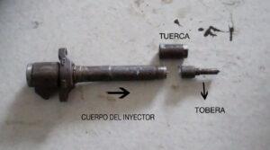partes inyector